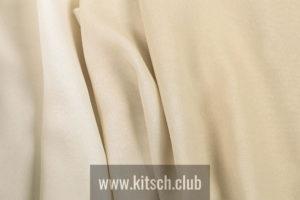 Швейцарская ткань 4 Spaces, коллекция Georgette Fume & Double Face, артикул GeorgetteFume/1502/03-Crema
